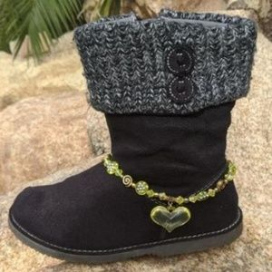 Child's Heart Boot Anklet